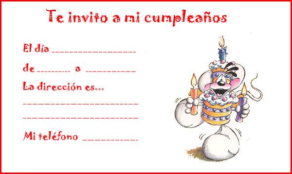 Invitaciones Para Ninos Teke Wpart Co