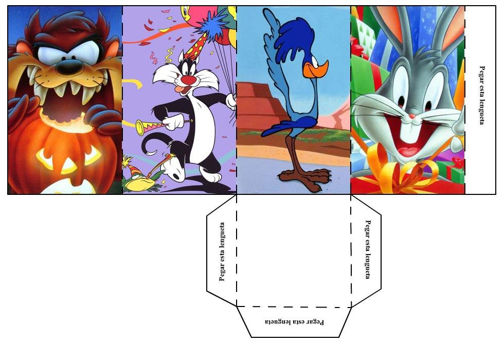 Portalápices de los Looney Tunes