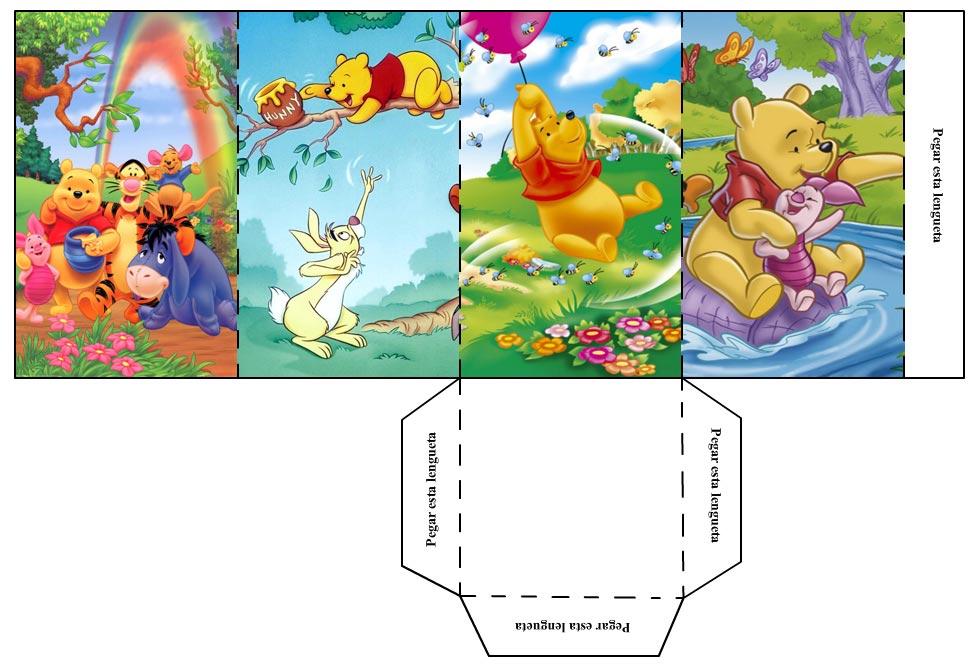 Manualidades para niños – Portalapices Winnie The Pooh