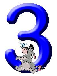 Números de Winnie. Número 3