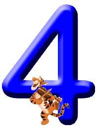 Números de Winnie. Número 4