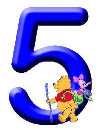 Números de Winnie. Número 5