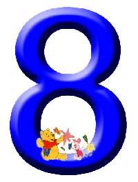 Números de Winnie. Número 8