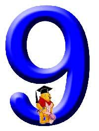 Números de Winnie. Número 9