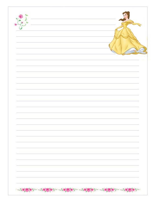 Papel de escribir para niños. Manualidades para niños